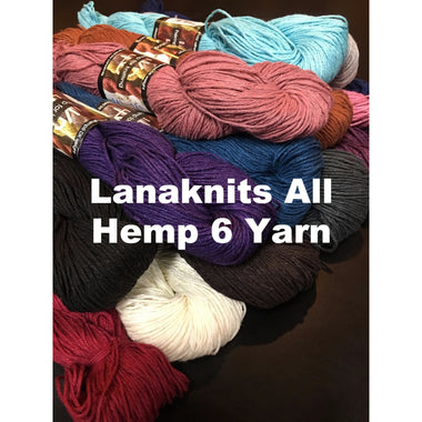 Lanaknits All Hemp 6 Yarn  - 1