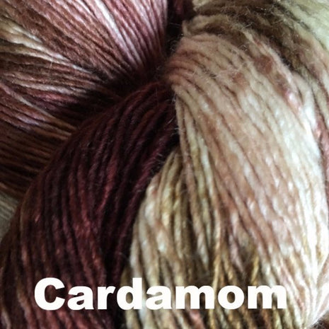 Paradise Fibers Yarn Handmaiden Mini Maiden Yarn Cardamom - 3