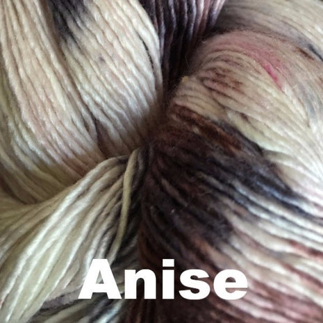 Paradise Fibers Yarn Handmaiden Mini Maiden Yarn Anise - 4