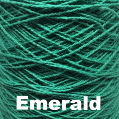 Paradise Fibers Clearance Paradise Fibers Special 4/2 Cotton Yarn - 1lb Cone Emerald - 2