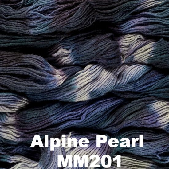Malabrigo Worsted Yarn Variegated Alpine Pearl MM201 - 10
