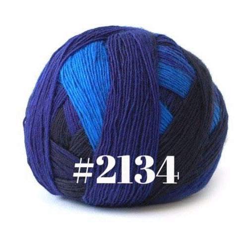 Paradise Fibers Yarn Schoppel-Wolle Zauberball Lace Ball Yarn 2134 - 9