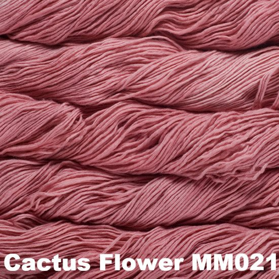 Malabrigo Worsted Yarn Semi-Solids Cactus Flower MM021 - 26