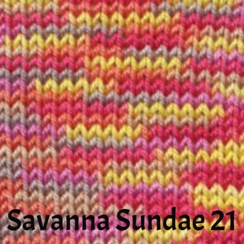 Ella Rae Cozy Soft Prints Yarn Savanna Sundae 21 - 18