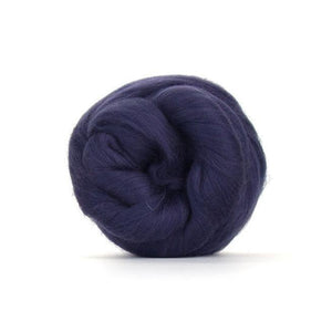 Paradise Fibers Solid Colored Merino Wool Top - Petrol-Fiber-4oz-