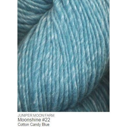 Juniper Moon Farm- Moonshine Yarn Cotton Candy Blue #22 - 23