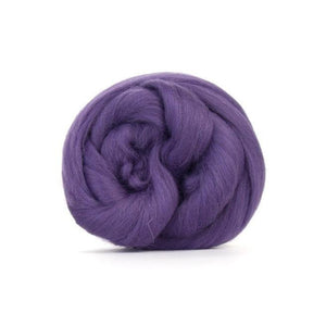 Paradise Fibers Solid Colored Merino Wool Top - Heather-Fiber-4oz-