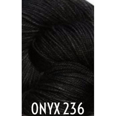 Paradise Fibers Yarn MadelineTosh Twist Light Yarn Onyx 236 - 12
