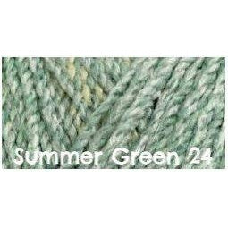 James C. Brett Marble Chunky Yarn Summer Green 24 - 14