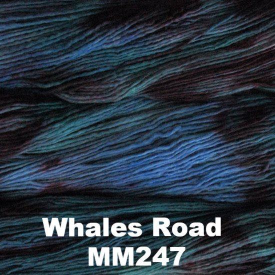 Malabrigo Worsted Yarn Variegated Whales Road MM247 - 21