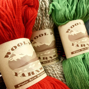 Paradise Fibers Clearance Wool Pak New Zealand Wool Yarn- 10 PLY  - 1