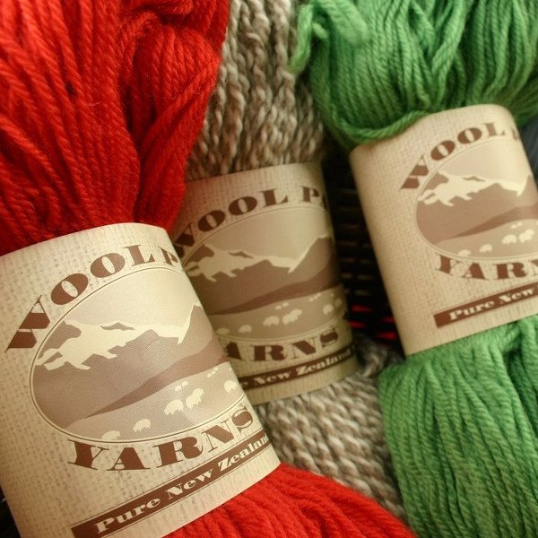 Wool Pak New Zealand Wool Yarn- 8 PLY  - 1