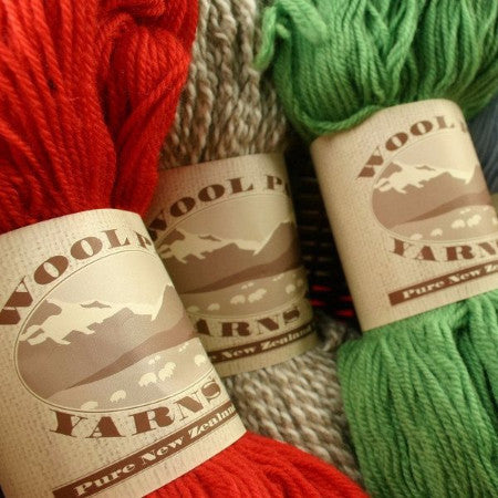 Paradise Fibers Clearance Wool Pak New Zealand Wool Yarn- 14 PLY  - 1
