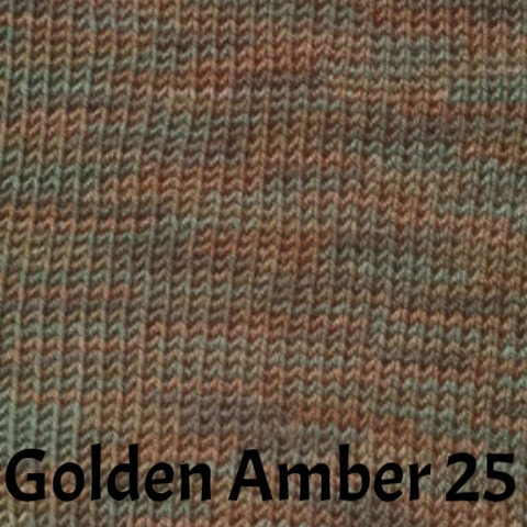Ella Rae Cozy Soft Prints Yarn Golden Amber 25 - 22