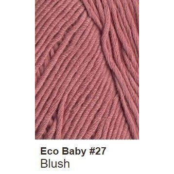 Debbie Bliss Eco Baby Yarn - Solids Blush 27 - 8