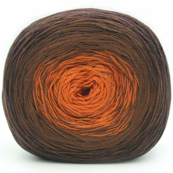 Trendsetter Yarns- Transitions Shawl Kit 2 Chocolate/Brown/Copper - 5