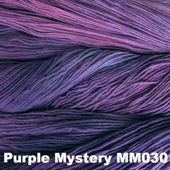 Malabrigo Worsted Yarn Semi-Solids Purple Mystery MM030 - 66
