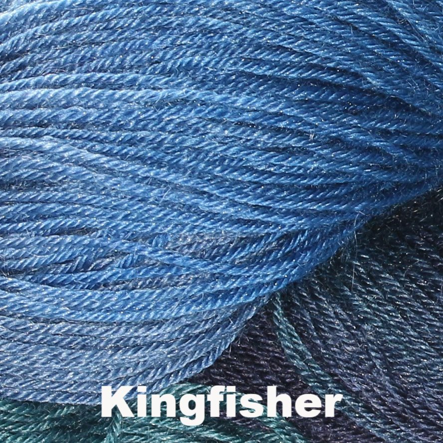 Paradise Fibers Yarn Rowan Fine Art Sock Yarn Kingfisher 305 - 6