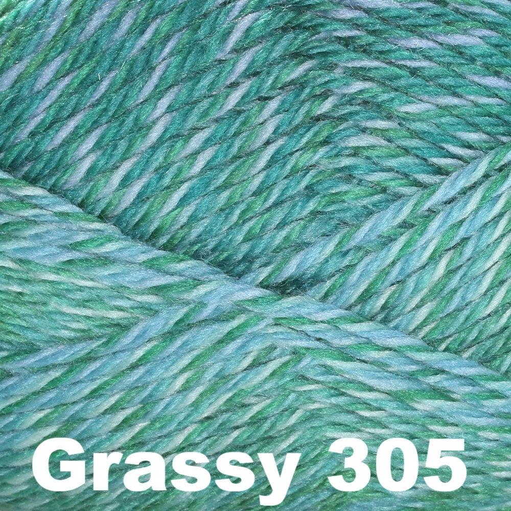 Cascade Pacific Color Wave Yarn Grassy 305 - 6