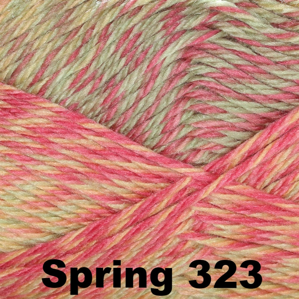 Cascade Pacific Color Wave Yarn Spring 323 - 4