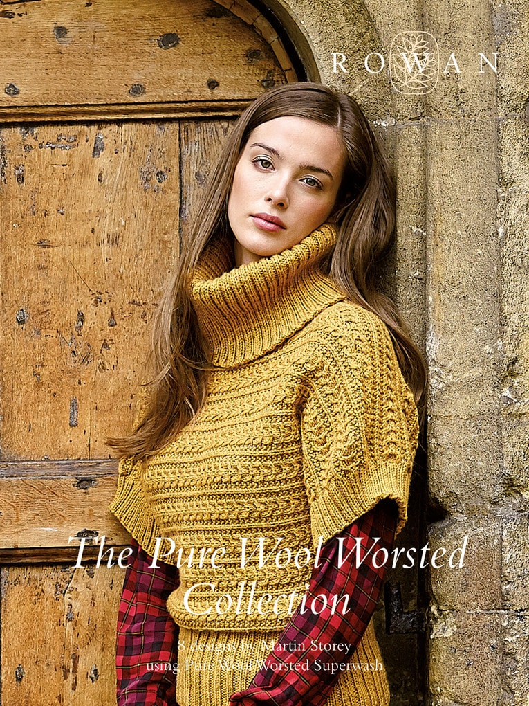 Rowan Pure Wool Worsted Collection Pattern Book
