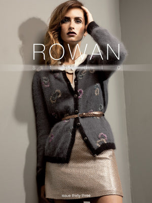Rowan Studio Issue 33 Pattern Book-Patterns-