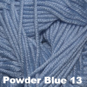 Paradise Fibers Yarn Cascade Sateen Worsted Yarn Powder Blue 13 - 5