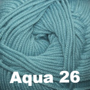 Paradise Fibers Yarn Cascade Sateen Worsted Yarn Aqua 26 - 9