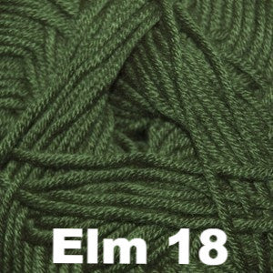 Paradise Fibers Yarn Cascade Sateen Worsted Yarn Elm 18 - 8