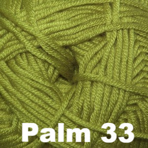 Paradise Fibers Yarn Cascade Sateen Worsted Yarn Palm 33 - 13