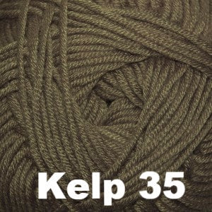 Paradise Fibers Yarn Cascade Sateen Worsted Yarn Kelp 35 - 16