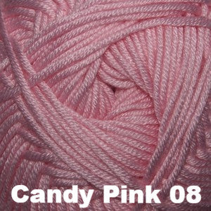 Paradise Fibers Yarn Cascade Sateen Worsted Yarn Candy Pink 08 - 3