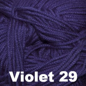 Paradise Fibers Yarn Cascade Sateen Worsted Yarn Violet 29 - 10