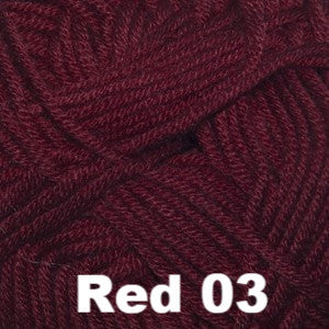 Paradise Fibers Yarn Cascade Sateen Worsted Yarn Red 03 - 2