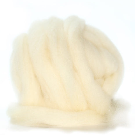 Rickwood Columbia/Rambouillet Pin Drafted Domestic Wool- 4oz. Bundle