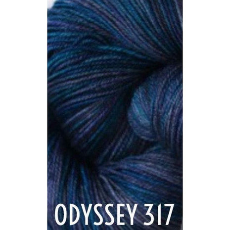 Paradise Fibers Yarn MadelineTosh Twist Light Yarn Odyssey 317 - 27