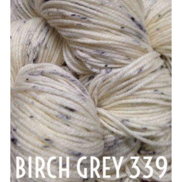 Paradise Fibers Yarn MadelineTosh Twist Light Yarn Birch Grey 339 - 45
