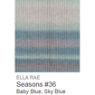 Ella Rae Seasons Yarn Baby Blue/Sky Blue #36 - 20