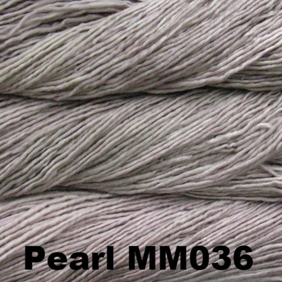 Malabrigo Worsted Yarn Semi-Solids Pearl MM036 - 89