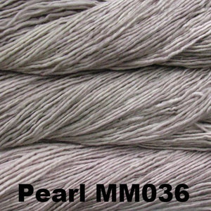 Malabrigo Worsted Yarn Semi-Solids-Yarn-Pearl MM036-