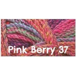 James C. Brett Marble Chunky Yarn Pink Berry 37 - 22