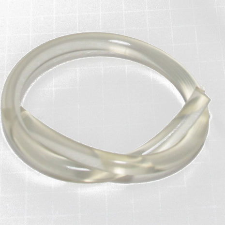 Paradise Fibers Spinning Wheel Part Drive Band 3/8 Dia clear for Drum Carders - sold per foot.