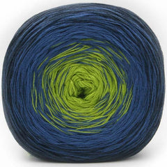 Trendsetter Yarns- Transitions Shawl Kit 3 Navy/Royal/Lime - 6
