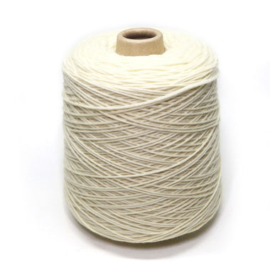 Jagger Spun Undyed Natural Yarn Cone - Super Lamb - Natural-Yarn-Jagger Yarns-Worsted Weight 4/8-Paradise Fibers