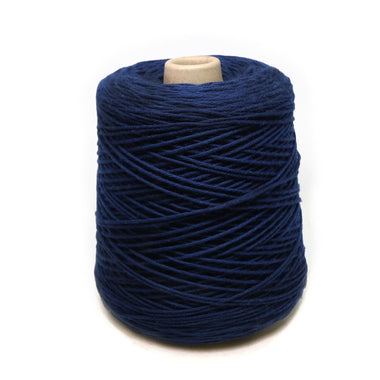 Jagger Spun Super Lamb 4/8 Worsted Weight Cone - Navy-Yarn-Jagger Yarns-Paradise Fibers