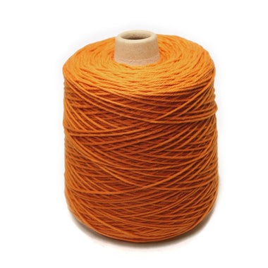 Jagger Spun Super Lamb 4/8 Worsted Weight Cone - Pumpkin-Yarn-Jagger Yarns-Paradise Fibers