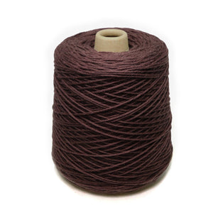 Jagger Spun Super Lamb 4/8 Worsted Weight Cone - Umber-Weaving Cones-