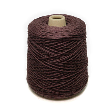 Jagger Spun Super Lamb 4/8 Worsted Weight Cone - Umber