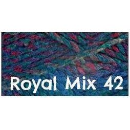James C. Brett Marble Chunky Yarn Royal Mix 42 - 27