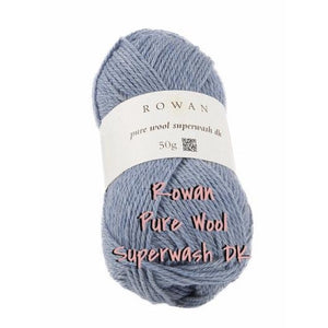 Rowan Pure Wool Superwash DK-Yarn-Navy 011-